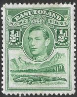 Basutoland. 1938 KGVI. ½d MH SG18 - 1933-1964 Crown Colony
