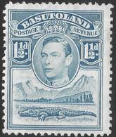 Basutoland. 1938 KGVI. 1½d MH SG20 - 1933-1964 Crown Colony