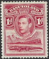 Basutoland. 1938 KGVI. 1d MH SG19 - 1933-1964 Crown Colony
