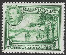 British Guiana. 1938-52 KGVI. 1c Used. P12½ SG 308a - British Guiana (...-1966)
