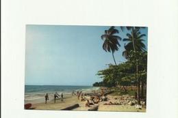 CPM:  LIBREVILLE  (république Du Gabon):    La Plage.      (G1647) - Gabun