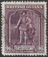 British Guiana. 1938-52 KGVI. 96c Used. P12½ SG 316 - British Guiana (...-1966)