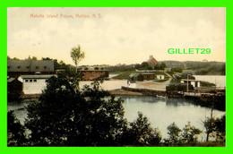 HALIFAX, NOVA SCOTIA - MELVILLE ISLAND PRISON - OLD FRANCH PRISON - TRAVEL IN 1908 - - Halifax