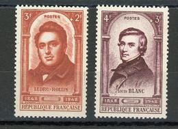 FRANCE - PERSONNAGE - N° Yvert 796+797** - Unused Stamps