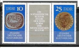 Oost-Duitsland - 25 Jahre Deutscher Kulturbund (DKB) - MNH - Michel 1592 - 1593 - Unused Stamps