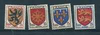 France:n°602/605 ** Armoiries De Provinces (I) - Unused Stamps
