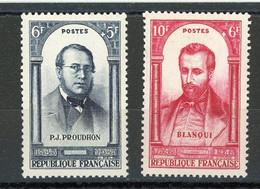 FRANCE - PERSONNAGE - N° Yvert 799+800** - Unused Stamps