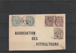 AFRANCHISSEMENTS  COMPOSES TYPE BLANC - Covers & Documents