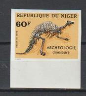 Niger. Fossile De Dinosaure. Non-dentelé - Preistorici
