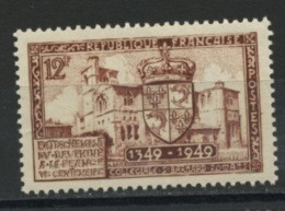 FRANCE -  RATTACHEMENT DU DAUPHINÉ - N° Yvert 839** - Unused Stamps