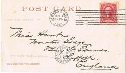 42076. Postal NEW YORK 1903. Edificio Flat Iron Building - Covers & Documents