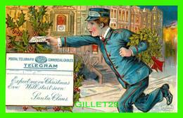 CHRISTMAS, NOEL -  POSTAL TELGRAPH COMMERCIAL CABLES, TELEGRAM - TRAVEL IN 1908 - - Sonstige