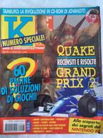 K Pc Games 8/96 Grand Prix 2 Ripper Congo Shivers Normality Slipstream 5000 Return To Zork Duke Nukem 3d Warcraft Ishar - Informatica