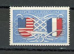 FRANCE - FRANCO AMERICAINE - N° Yvert  840** - Unused Stamps