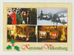 Ansichtkaart-postcard Christmas-kerststad Valkenburg Aan De Geul (NL) - Valkenburg