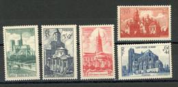 FRANCE - CATHEDRALES - N° Yvert  772/776** - Unused Stamps