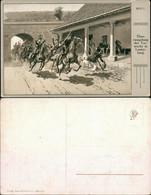 Deutsche Einigungskriege - Überrumpelung Der Torwache In Lauterburg 1911 - Andere Oorlogen