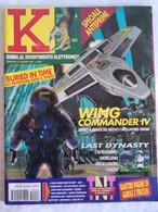 K Pc Games 6/95 Lorne Peterson Wing Commander Last Dynasty Pyrothecnica Tank Commander Casino Tournament Baldies 1830 - Informatica