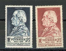 FRANCE - FOURNIER - N° Yvert  789+748** - Unused Stamps