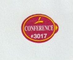 1x Fruit Label Sticker Conference #3017 - Fruits & Vegetables