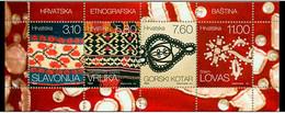Croatia 2014 ☀ Ethnographic Heritage ☀ Mint Never Hinged (**) - Croatia