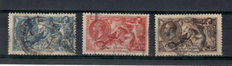 Gran Britain / England 1913 N.153B/155B -- Used - Used Stamps