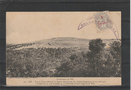 CARTE POSTALE POUR NICE - Covers & Documents