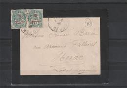 LETTRE DE 1912 POUR MERAC - Covers & Documents