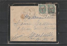 LETTRE DE 1918 POUR MARSEILLE - Covers & Documents