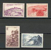FRANCE - PAYSAGES - N° Yvert  759+763+764+777** - Unused Stamps