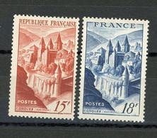 FRANCE - PAYSAGES - N° Yvert  792+805** - Unused Stamps