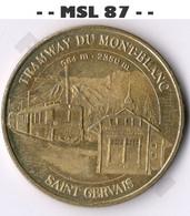 - - 74 - Le Fayet - Saint Gervais - Tramway Du Mont-Blanc - MDP - ACHAT IMMEDIAT - - - 2005