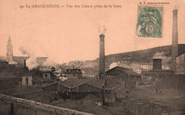 30 / LA GRAND COMBE / VUE DES USINES PRISE DE LA GARE - La Grand-Combe