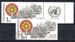 Tchécoslovaquie 1970 Mi 1945+ZF (Yv 1789+vignette), Obliteré - Used Stamps