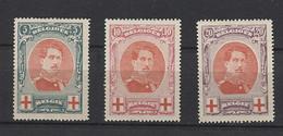 Belgium 1915 Red Cross *mint HINGED*__(146) - Unused Stamps