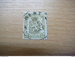 (07.08) BELGIE 1935 Nr  420 Afstempeling GENT - 1935-1949 Small Seal Of The State