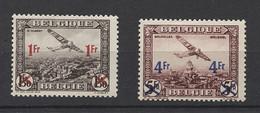 Belgium 1935 Airmail *mint HINGED*__(149) - Unused Stamps