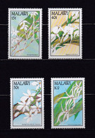 MALAWI 1990 TIMBRES N°565/68 NEUFS** ORCHIDEES - Malawi (1964-...)