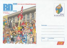 99282- CONSTANTA CARTOONS FESTIVAL, CHILDRENS, COVER STATIONERY, 2005, ROMANIA - Andere