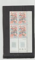 N° 2081 - 1,50 CORDES -tirage Du 6.12.79 Au 15.1.80 - 21.12.1979 - 2 Traits - - 1970-1979