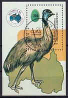 Kuba Block 85 Gestempelt, Internationale Briefmarkenausstellung AUSIPEX'82 In Melbourne - Blocks & Sheetlets