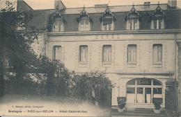 Riec Sur Bélon (29 Finistère) (de L') Hôtel Cardoret Gay Circ. 1er Janvier 1917 Du Rare Convoyeur Concarneau à Quimperlé - Otros Municipios