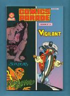 Album Relié N° 4 Comics Parade N° 7 Et 8 - Collection DC Arédit - Editions Arédit - 1986 - TBE / Neuf - Arédit & Artima