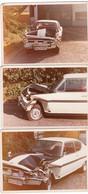 3 Fotos Opel Kadett GTE Unfall - Automobile