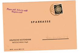 """DDR Dienstbrief Mit Losungsstempel """"Plane Mit! Arbeite Mit! Regiere Mit!"""" - Official"""