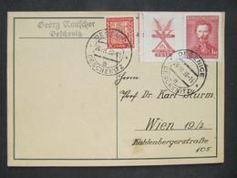 KARTE Deschenitz Dešenice B. Klatovy 1938 /  C3008 - Covers & Documents