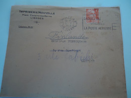 FRANCE  COVER  1949      2 SCAN - Unclassified