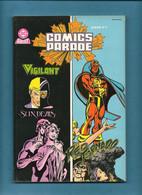 Album Relié Comics Parade N° 3 - Avec Les N° 5 Et 6 - Collection DC Arédit - Editions Arédit - 1986 - TBE / Neuf - Arédit & Artima