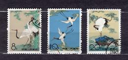 China PR 1962 Mi# 640-642 Sacred Cranes -used (46x4) - Used Stamps