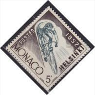 1952 MONACO   ** MNH Vélo Cycliste Cyclisme Bicycle Cycling Fahrrad Radfahrer Bicicleta Ciclista Ciclismo [dd12] - Cycling